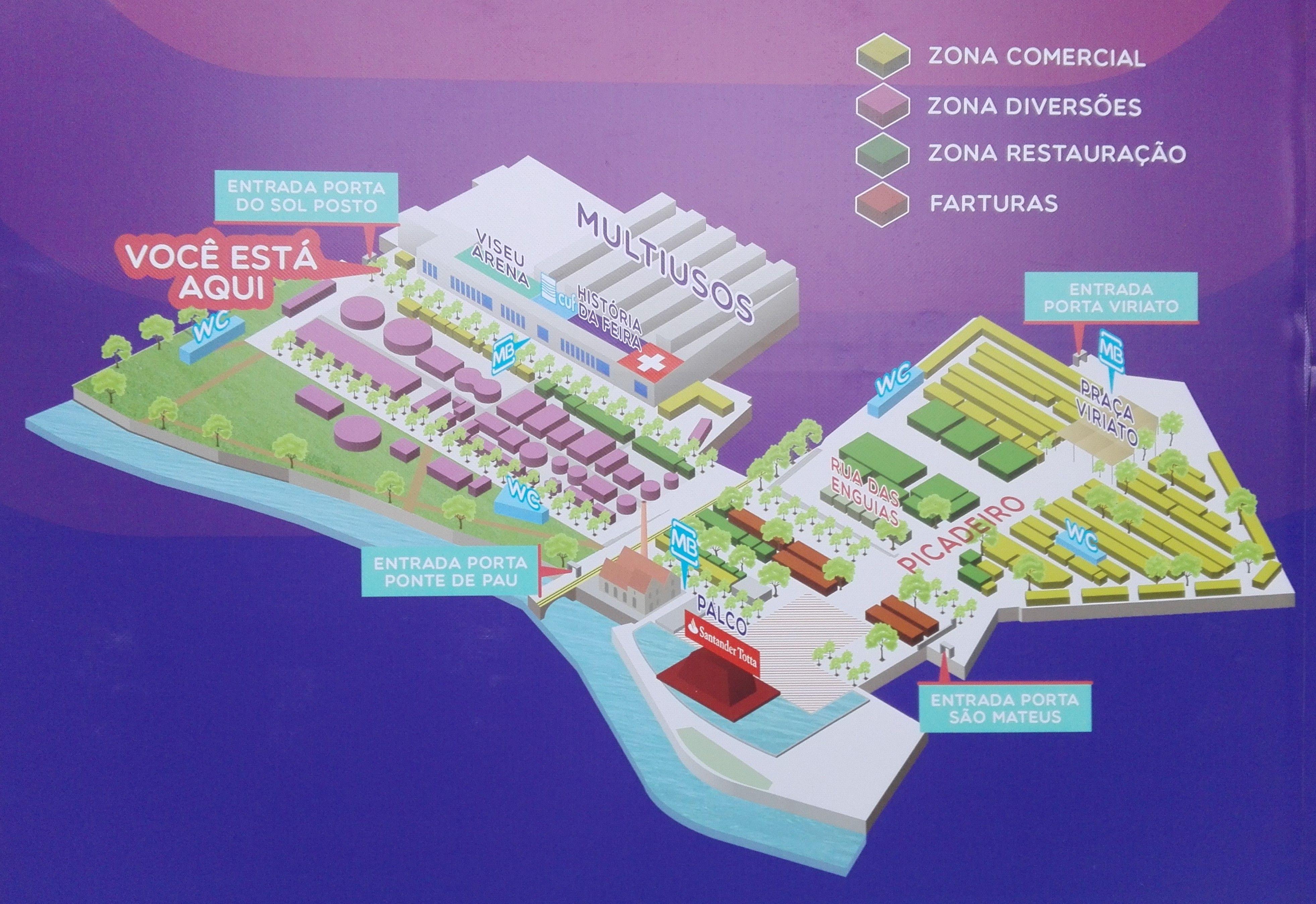 Mapa Feira de São Mateus 2020