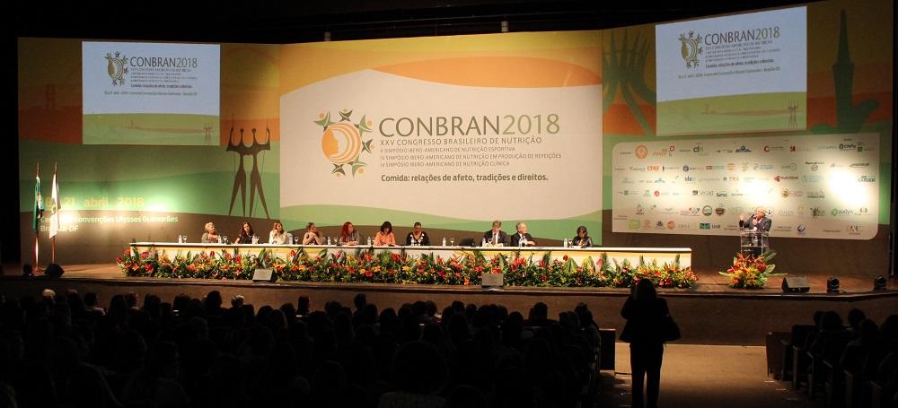 Congresso Brasileiro de Nutrição 2020