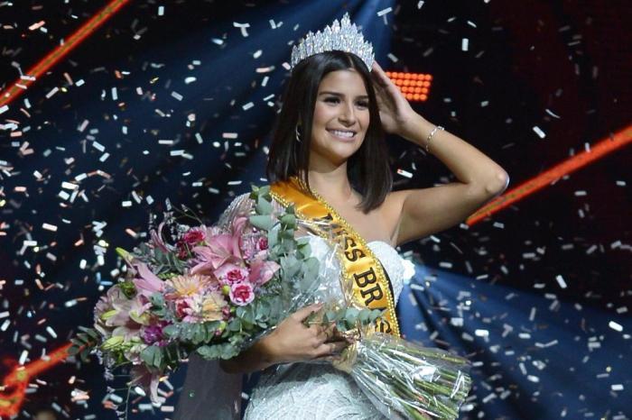 Coroação Miss Brasil
